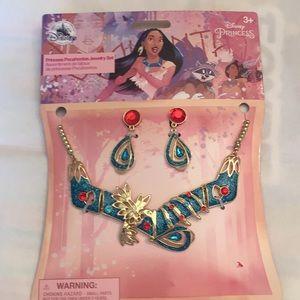 Pocahontas jewelry set